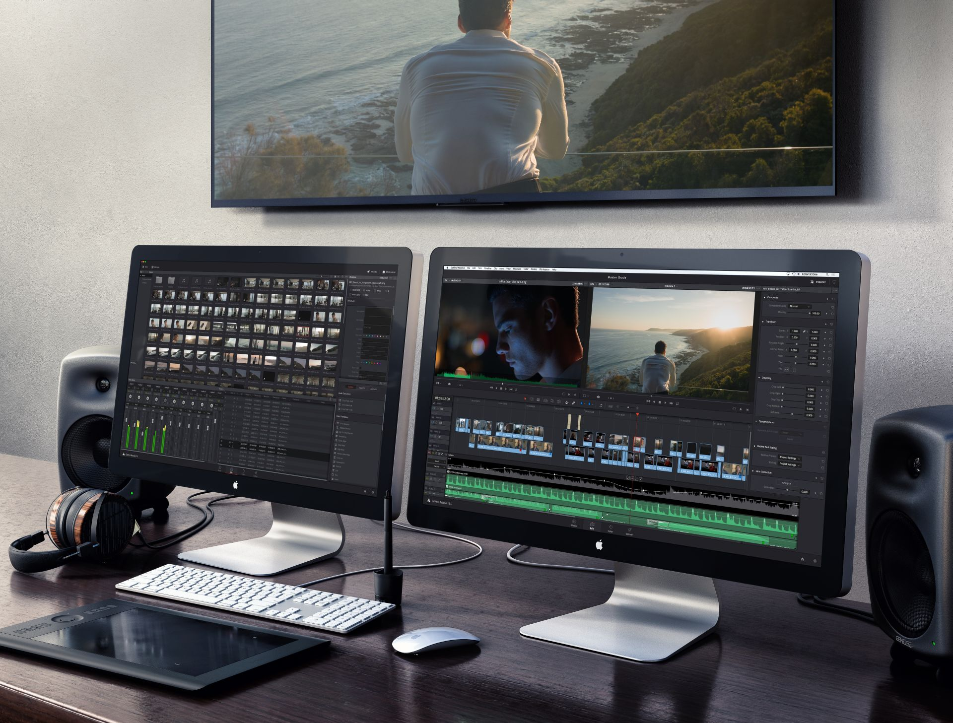 DaVinci Resolve 12.5 ProSite (Bild: Blackmagic Design)